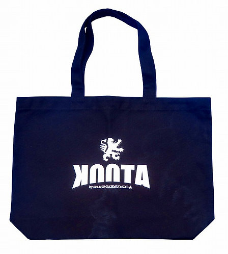 KOOTA CANVAS BIG TOTE (BLACK)