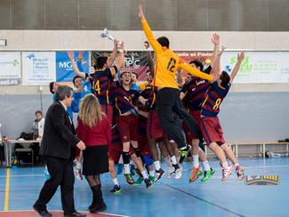 BM La Roca i FC Barcelona campions de Catalunya juvenils