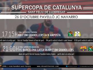 Viu la Super Copa de Catalunya a Sant Feliu