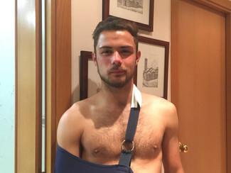 Jordi Ruf lesionat de gravetat