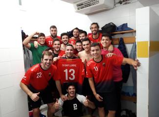 Primera victòria a Lliga Catalana