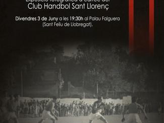 """Exposició fotogràfica """"75 anys d'handbol a Sant Feliu"""""""