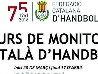 Curs de monitor català d'handbol