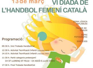 VI Diada de l'handbol femení català