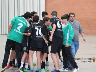 BM Granollers Sporting 33 – 29 Infantil A