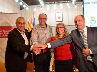 Sant Feliu es converteix en la capital de l'handbol català   #FentHistòria