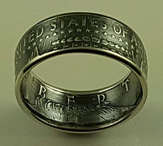 Kennedy coin ring for sale
