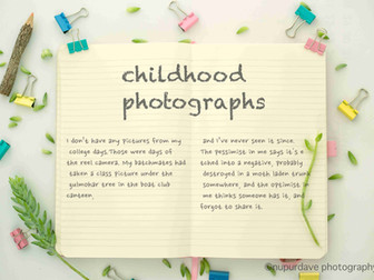 Where Are Our Childhood Photographs?