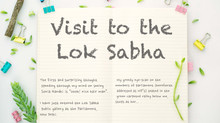 Surprise! I visited the live Lok Sabha