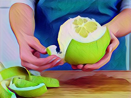 POMELO - Die ideale Frucht für Sportler im Winter