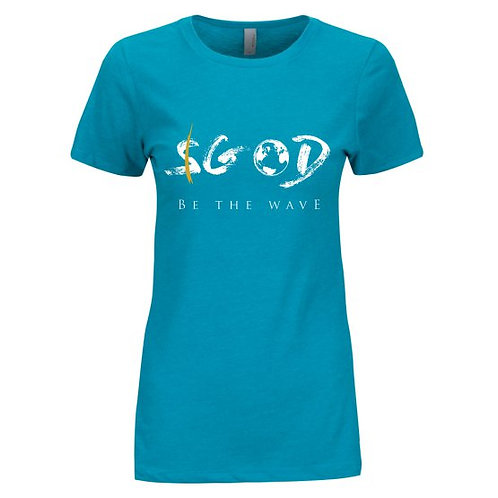 Women's Be The Wave - Teal