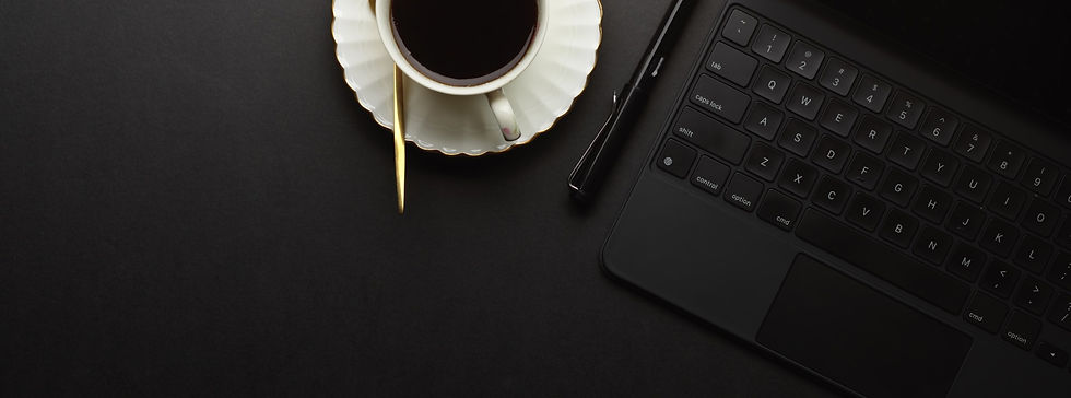 top-view-workspace-with-digital-tablet-coffee-cup-copy-space-black-table-home-office-room_