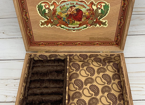 Flor de las Antillas Cigar Box Jewelry Box