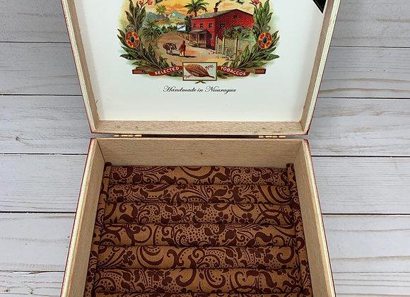 Brick House Cigar Box Jewelry Box