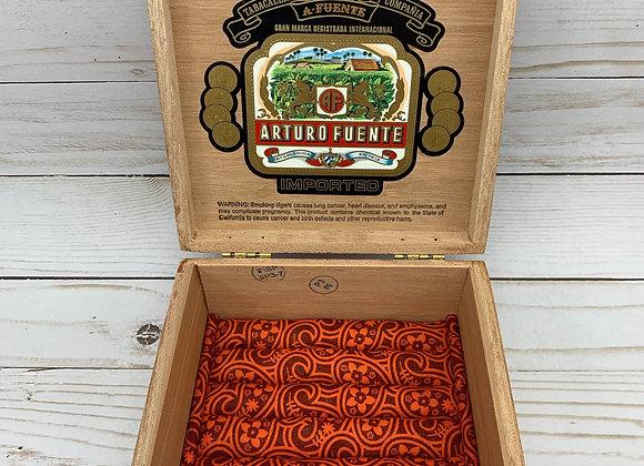 A'Fuente Exquisitos Cigar Box Jewelry Box