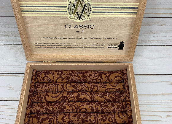 AVO Classic Cigar Box Jewelry Box