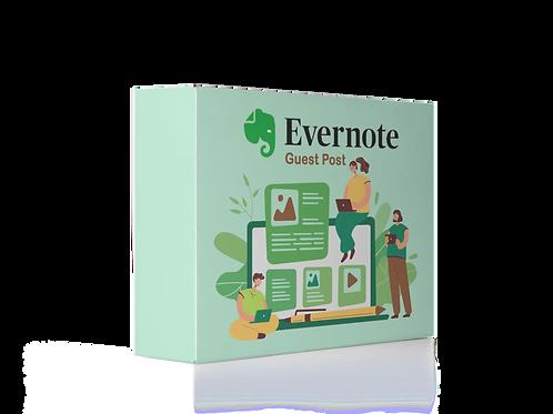 Publicar GuestPost no Evernote DA 92 Backlinks Dofollow