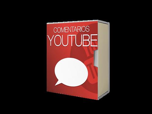 comprar comentários youtube