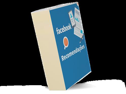 como pedir recomendação no facebook