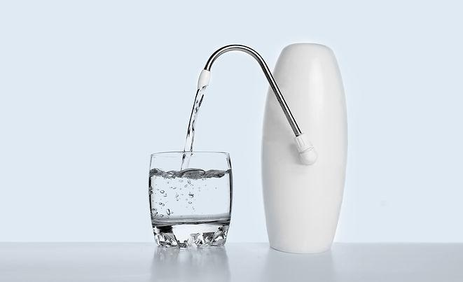 Purificador de agua y Vidrio