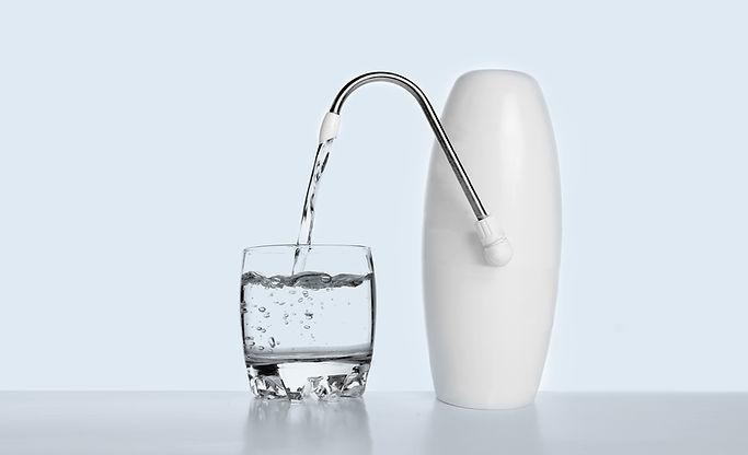 Purificateur verre d'eau