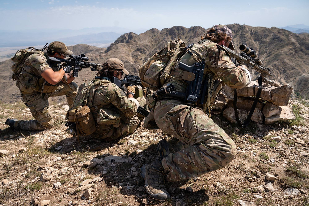 US Army Special Forces in combat