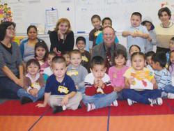 Preschool class at Benito Juarez Sch