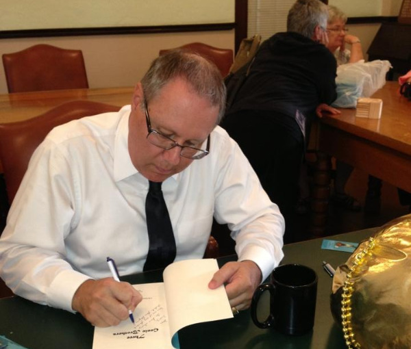 First book signing (May 2013)