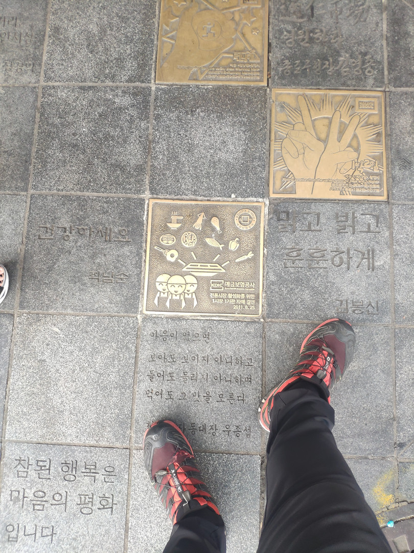 Quality walking paths Seoul