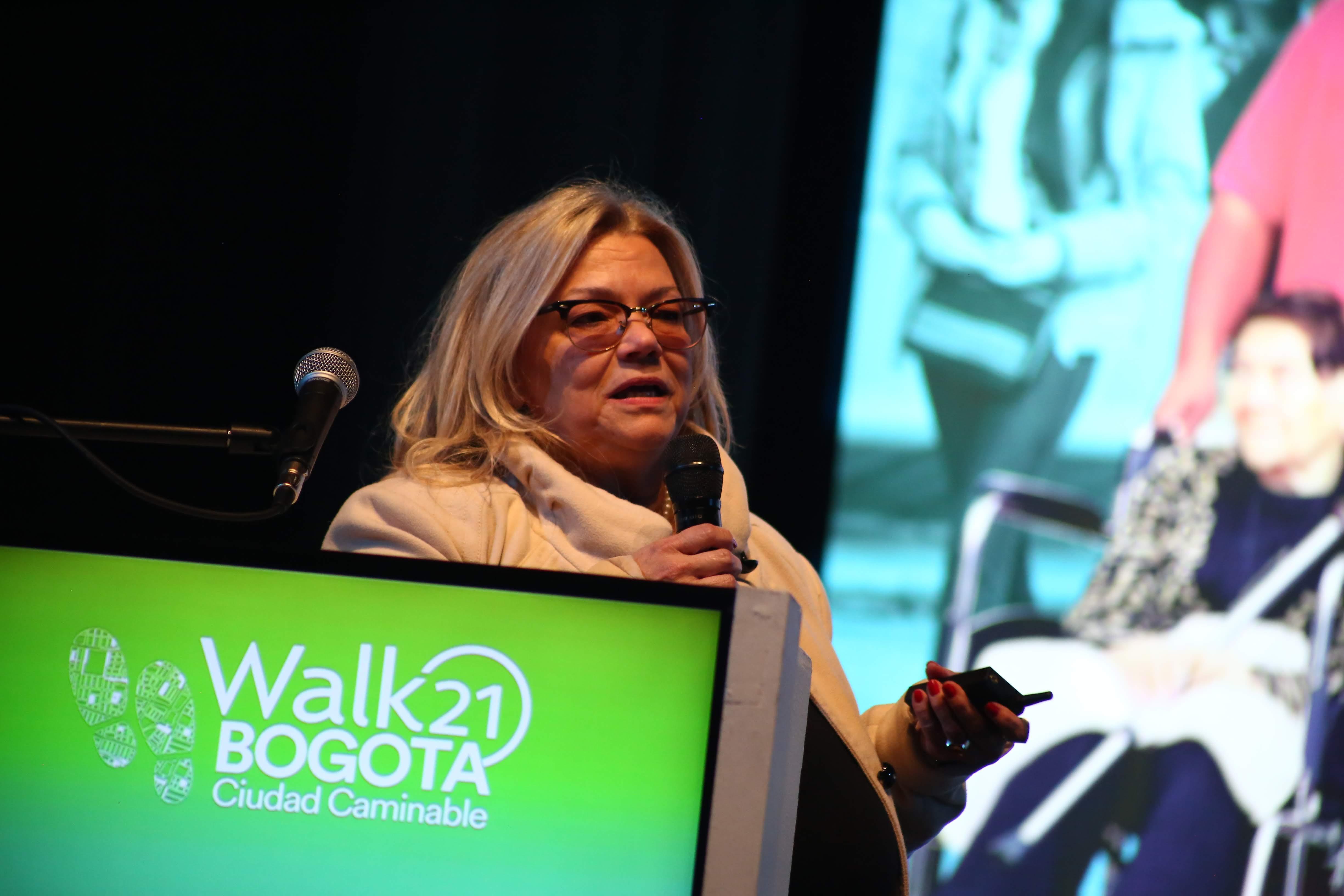 Walk21 Bogota conference speakers