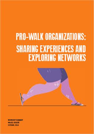 Walking groups strengthen their collaboration