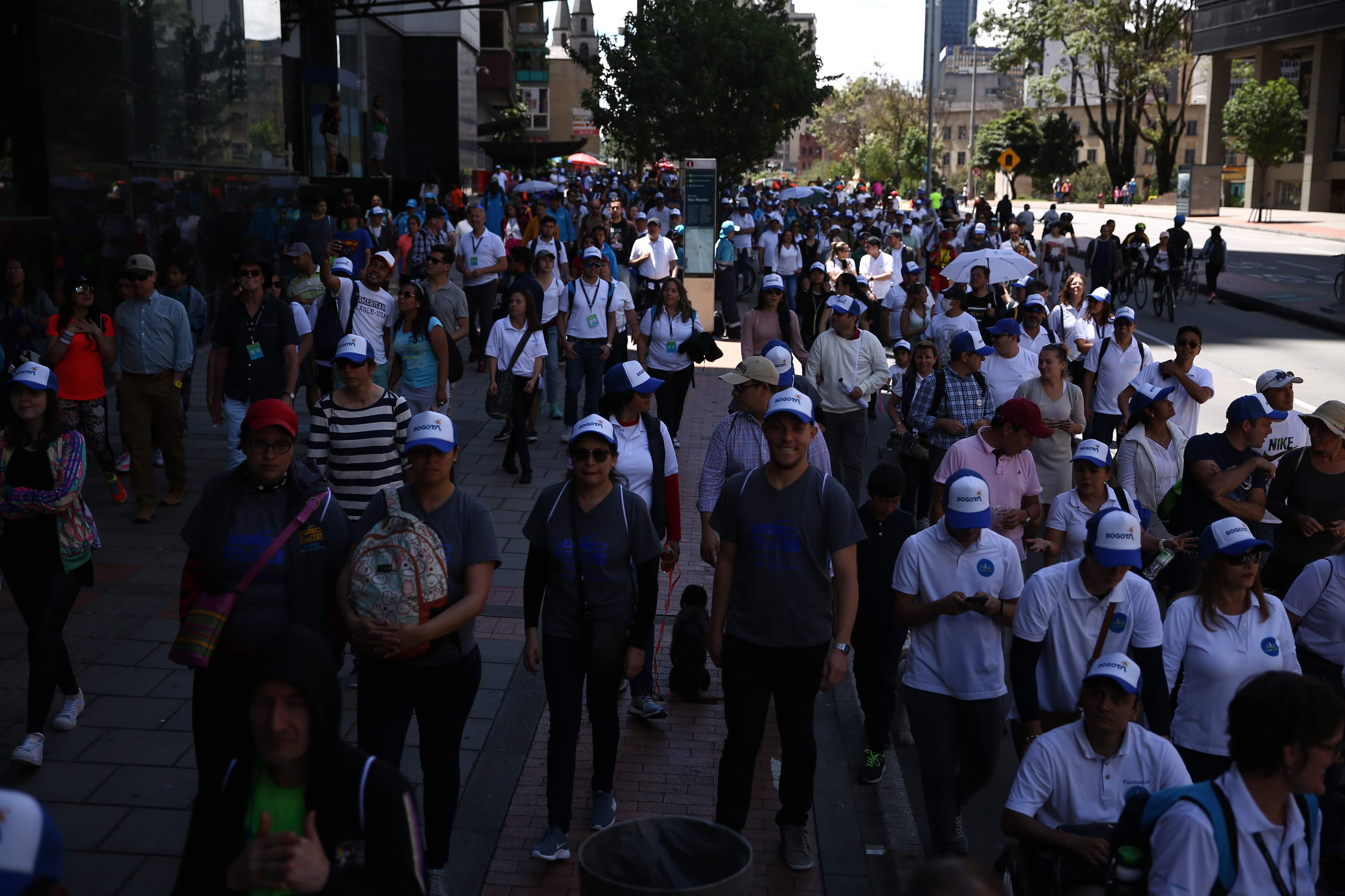 Walk21 Bogota caminovia