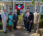 Antigua Commonwealth Walkay unveiling