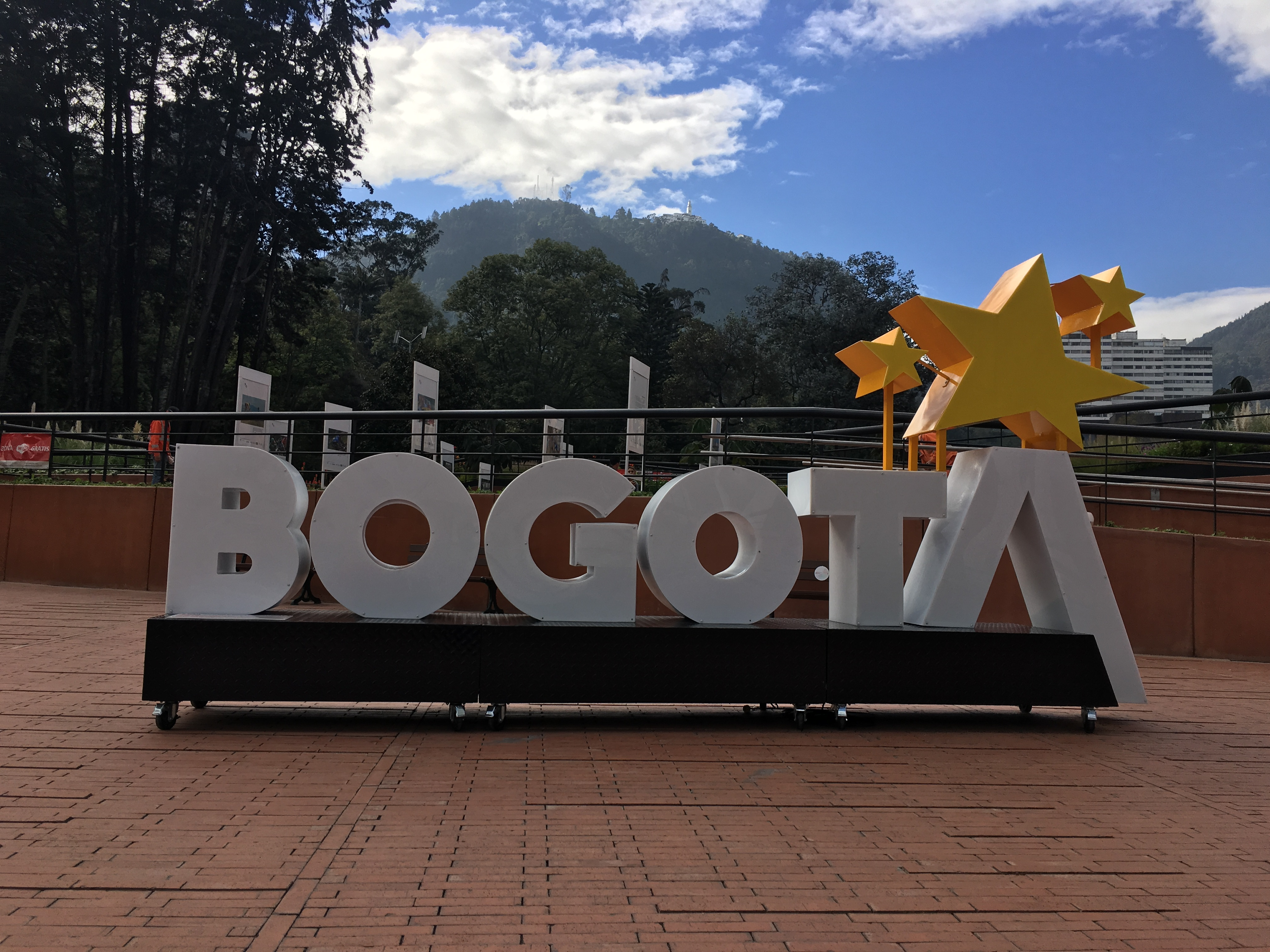 Bogota sign