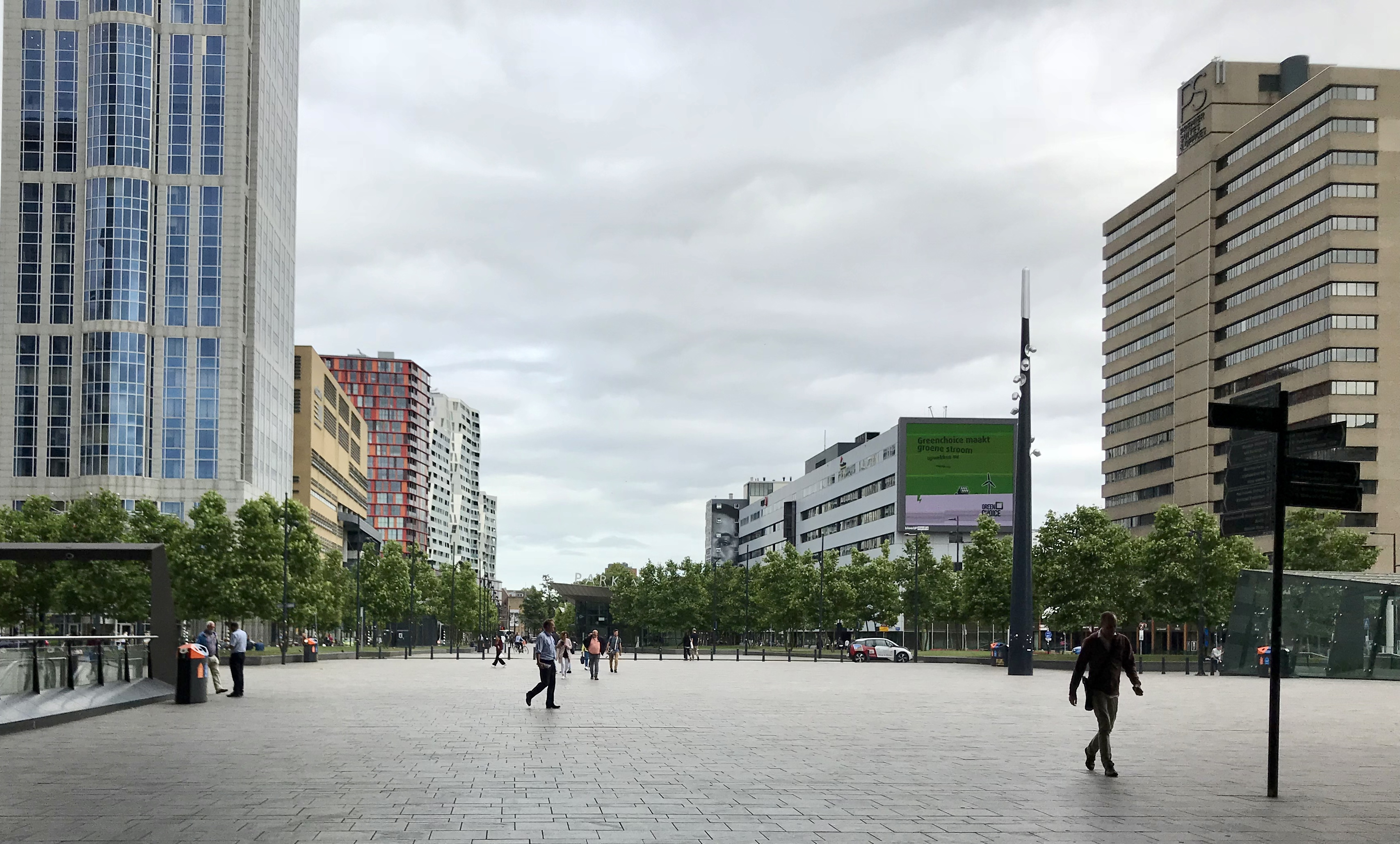 Rotterdam walkable streets
