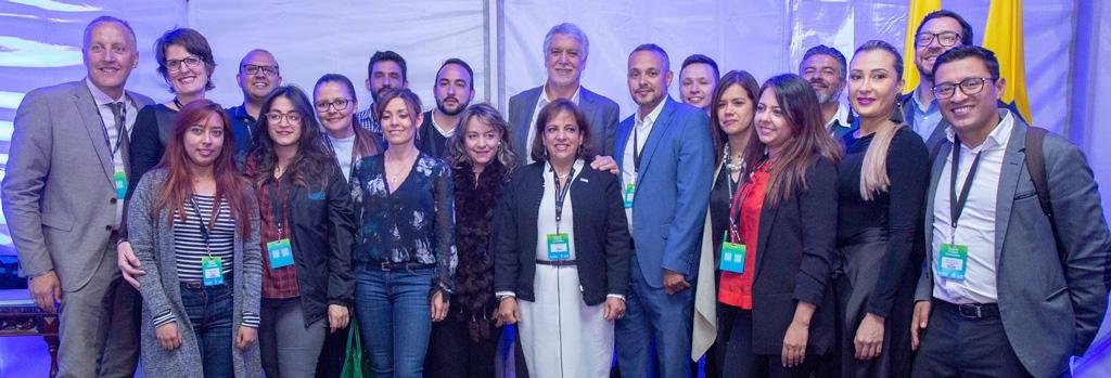Walk21 Bogota team