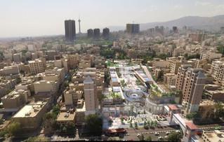 Tehran's heart at a glance