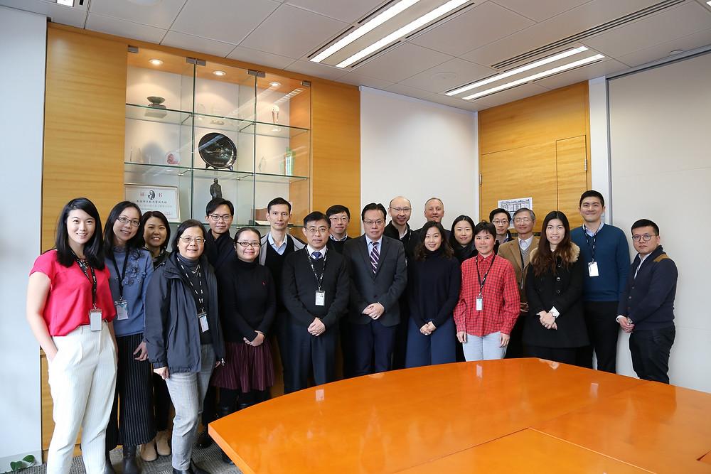 The new Walk Hong Kong team, meeting together at Mott Macdonald Offices