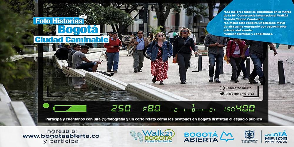 Walk21 Bogota Photo competition