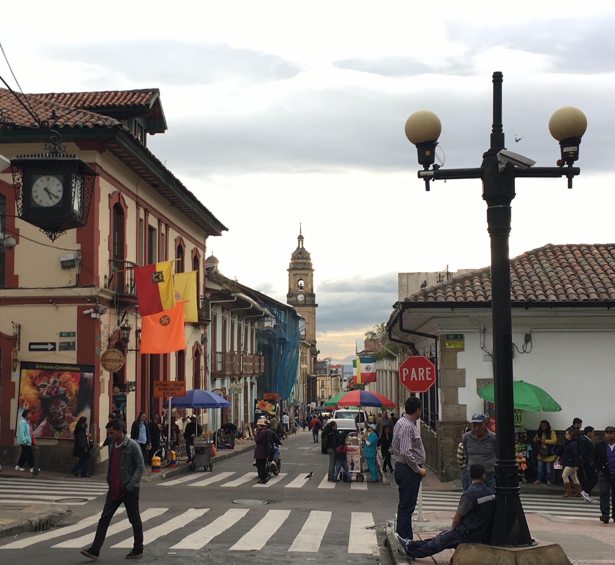 Bogota old town
