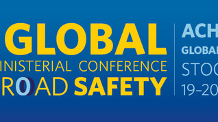 We will be talking walking! at the 3rd Global Ministerial Conference on Road Safety