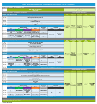 Preliminary Program announced for Walk21 Bogotá