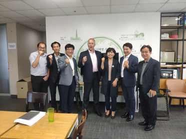 The Walk21 Seoul 2020 team