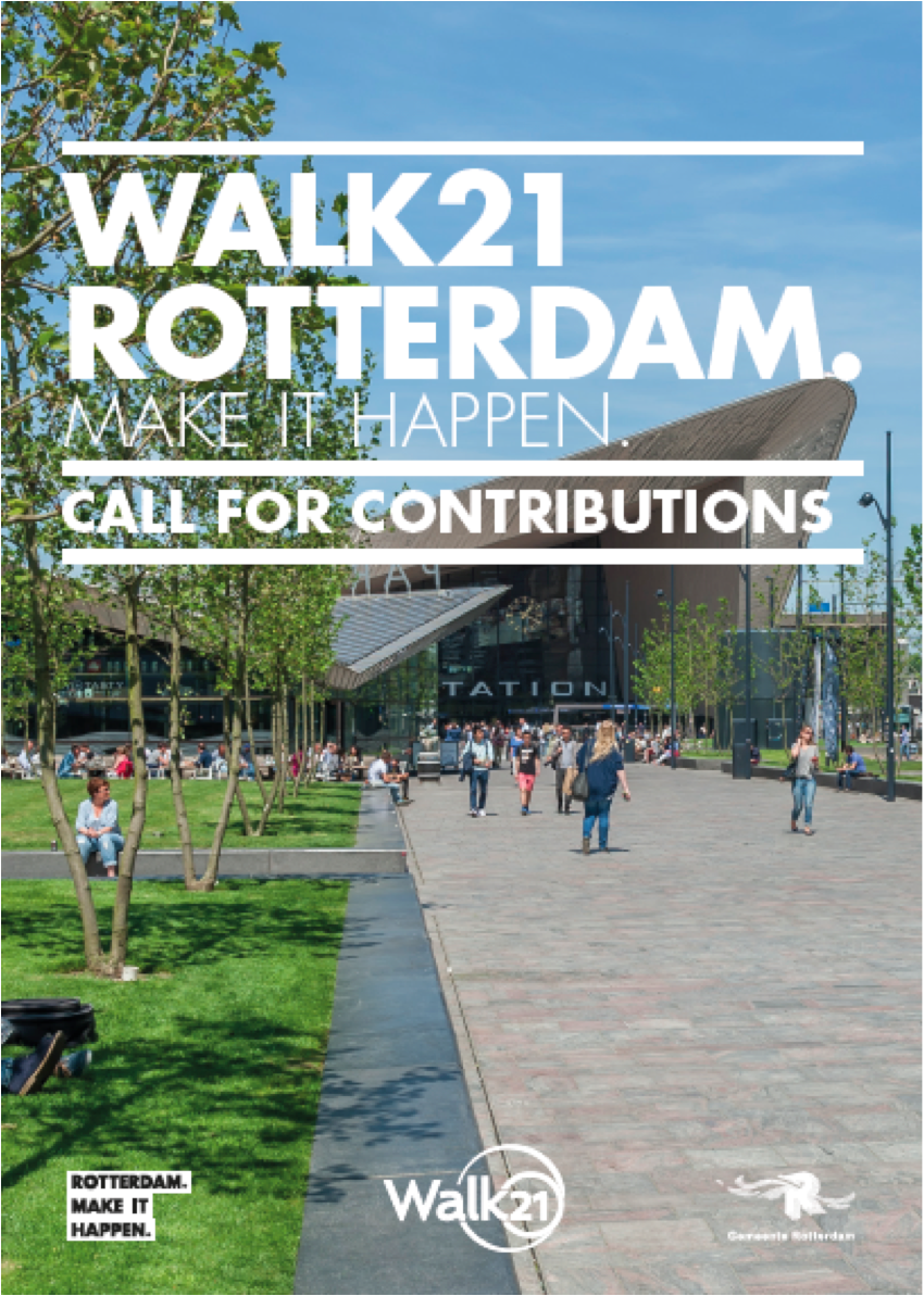 Walk21 Rotterdam Call for Papers