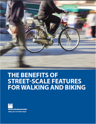 Benefits of Street-Scale Features for Walking launched in USA
