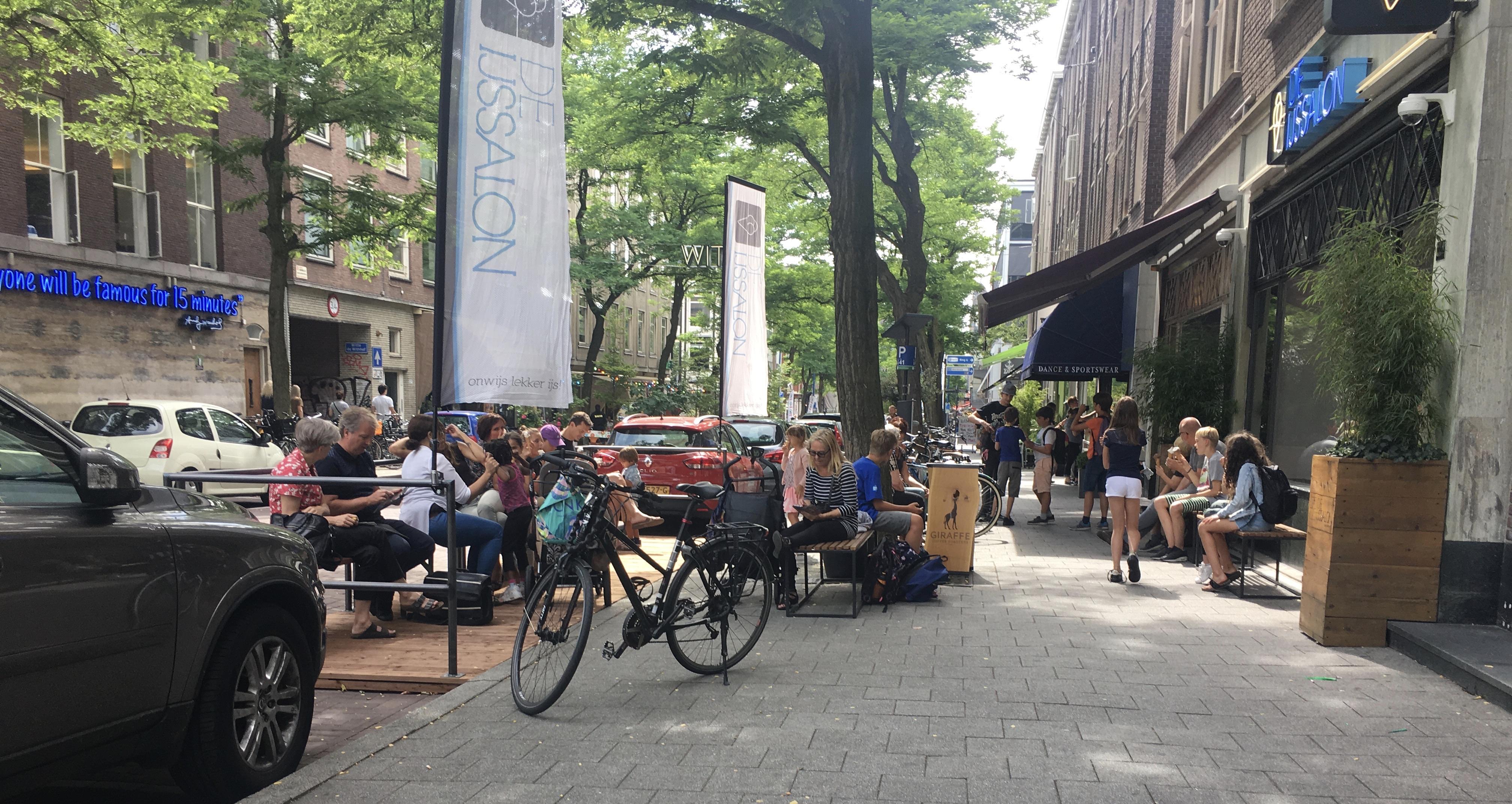 Rotterdam street cafe