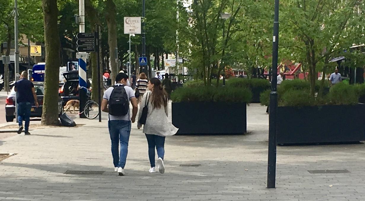 Quality sidewalks Rotterdam