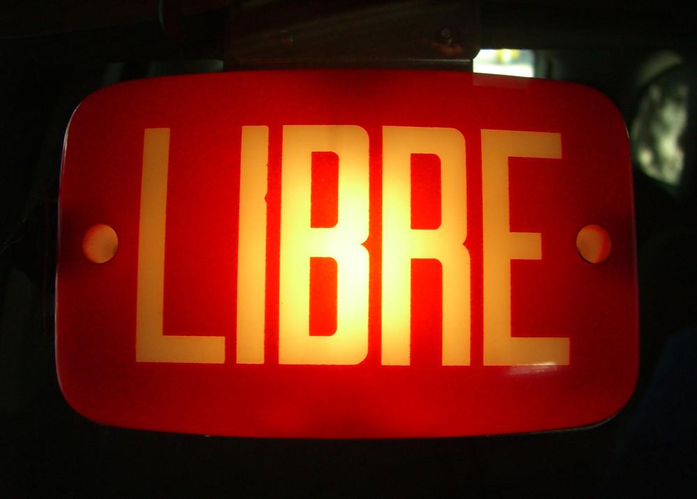 Libre/free sign