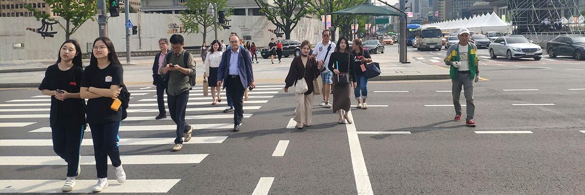 Walk21 Seoul Walking