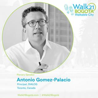 The Latest Plenary Speakers for Walk21 Bogotá
